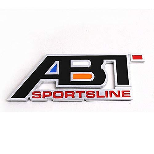 Yoin Golf 7 CC Auto Grille Embleem ABT Embleem ABT SPORTLINE Auto Naamplaat voor Passat