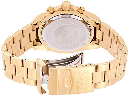 Invicta Pro Diver Men's Wrist Watch Stainless Steel Quartz Champagne Dial – 1774