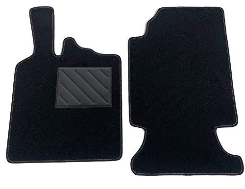Alfombrillas Smart For Two W451 2007-2014 a medida, antideslizantes, con talonera de goma, accesorios para coche