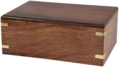 Memorial Gallery Custom Wood Box Pet Urn Fixed shop price for sale
