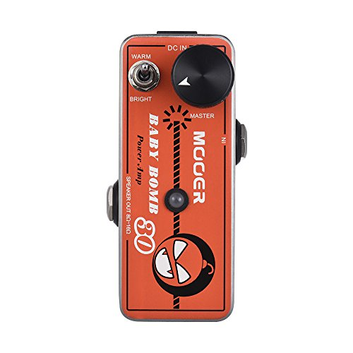 CAMOLA Mooer Baby Bomb 30 Micro Power AMP Amplifier Guitar Effect Pedal Max. 30W Output Overcurrent Protection
