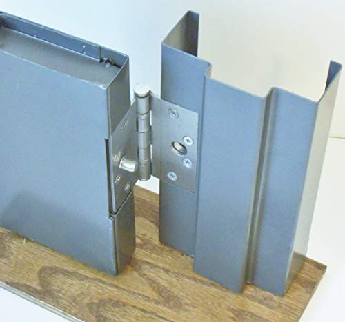 Steel Door Lock Security Hinge Protector with Transfer Punch
