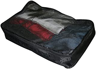 Austin House Luggage Packing Cubes, Black, One Size