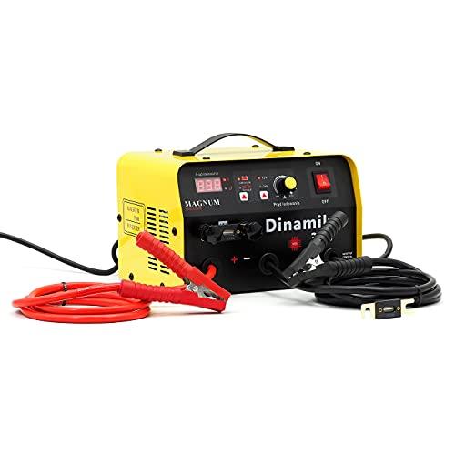 Magnum Dinamik 340 - Batería de coche (12/24 V, 50 A, cargador de coche, cargador de batería de arranque)