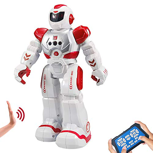 Suliper Remote Control Robots for Kids,Intellectual Gesture Sensor Programmable RC Robot Toys...