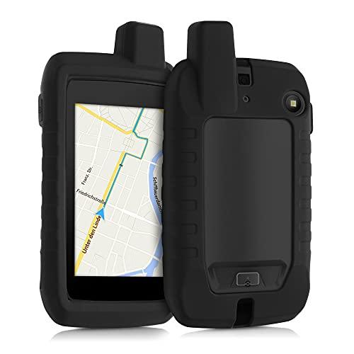 kwmobile Funda Compatible con Garmin Montana 700 - Carcasa de Silicona para navegador GPS - Cover Negro