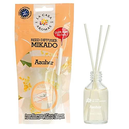 H HANSEL HOME Ambientador Mikado Difusor de Varillas Perfumadas Azahar 30ml