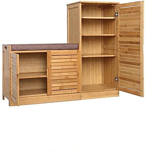 LONGJIQ Armadio da Scarpe Modern Minimalist Hall Cabinet Balconed Blocchetto Porta d'ingresso Scarpa a Grande capacità Rack per Scarpe Fantastic