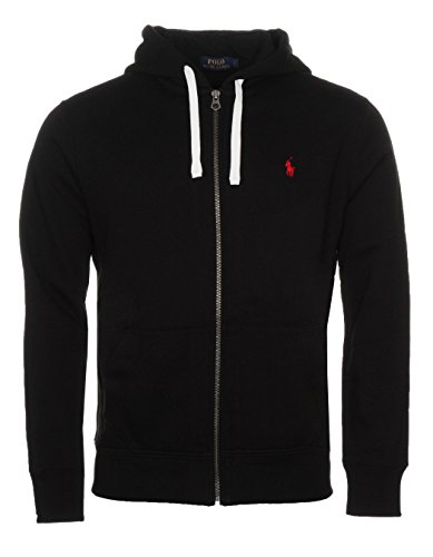 Ralph Lauren Polo - Sudadera con capucha para hombre (tallas S a XXL) Negro Negro ( XS