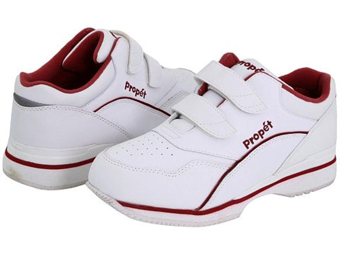 エンティティきらめく可塑性(プロペット)Propet レディースウォーキングシューズ?カジュアルスニーカー?靴 Tour Walker Medicare/HCPCS Code = A5500 Diabetic Shoe White/Berry 7 24cm X (2E) [並行輸入品]