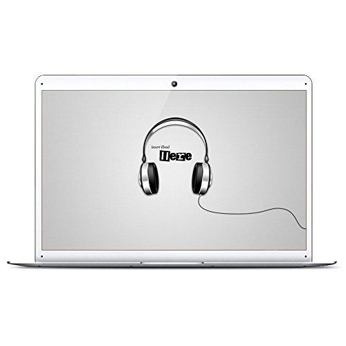 14'' HD Windows 10 Ultra Slim Laptop - 2GB RAM 32GB Storage, Intel Quad Core 1.44Ghz USB 3.0, WiFi, BT, HDMI Supports 128GB tf-Card Notebook by Smart-US (Silver)