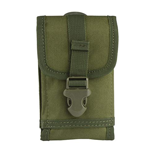 Ran's L Tactical Smartphone, Molle Phone Tasche, Security Pack Carry Accessory Nylon CJ/SJB01 (Grün) MEHRWEG
