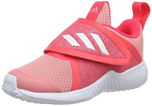 adidas Unisex Kinder Fortarun X CF First Walker Shoe, Glory Pink/Footwear White/Shock Red, 25 EU