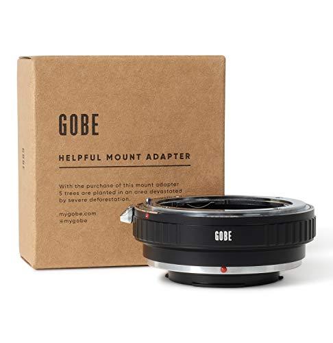 Gobe - Adattatore di montaggio lente: compatibile con lente Nikon F e corpo fotocamera Samsung NX