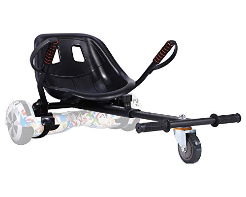 yabbay Hoverboards Seat Attachment Go Karts Carts,Transforms Your Hoverboards into Go-Kart