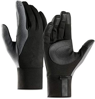 Gloves Mens Unisex Leather Gloves Touch Screen Thinsulate Lined Driving Warm Gloves Winter Keep Warm Mittens Male