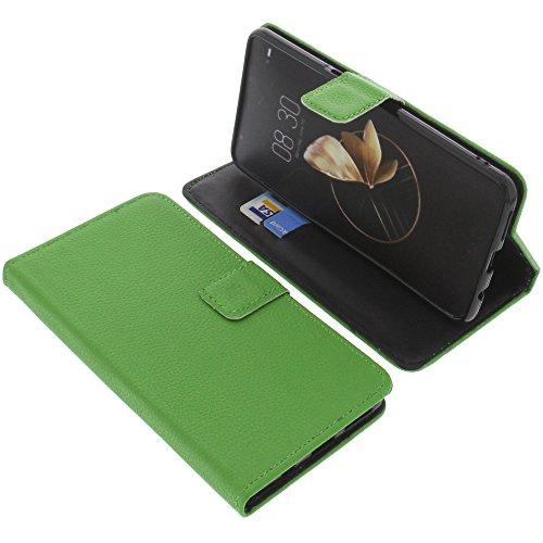 foto-kontor Tasche für Archos Diamond Gamma Book Style grün Schutz Hülle Buch