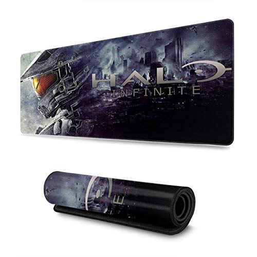 Halo Infinite Large Mouse Pad with . 30 X 80 Inch Mouse Pad Non-Slip Natural Rubber Base Suitable for Computer, Laptop Computer Protection Keyboard Mouse Pad