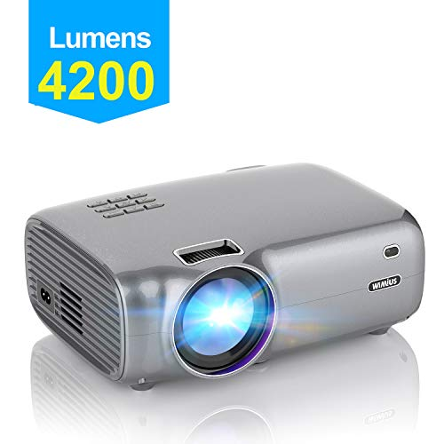 Vidéoprojecteur, WiMiUS 4200 Lumens...