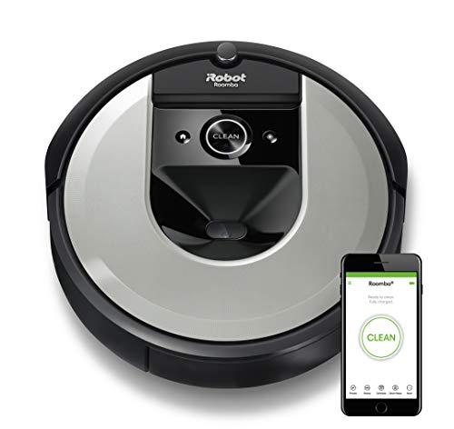 iRobot Roomba i7156 Aspirateur Robot connecté avec Aspiration Surpuissante - brosses en Caoutchouc...