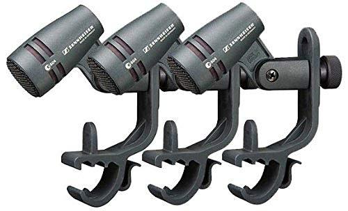 Sennheiser E604 Dynamic Cardioid Instrument Microphone Kit, 3-Pack