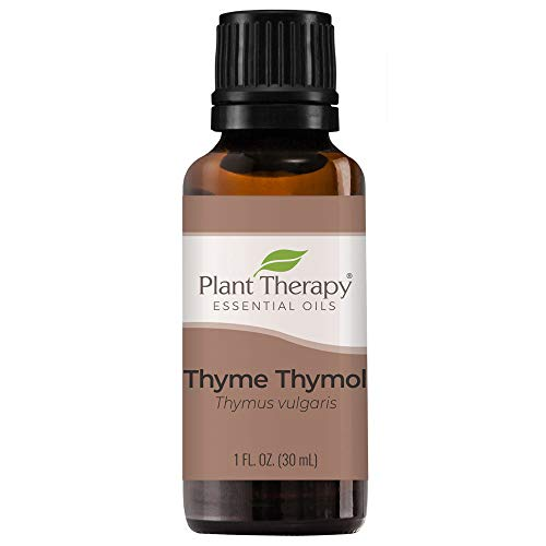 Plant Therapy Thyme Thymol Essential Oil 100% Pure, Undiluted, Natural Aromatherapy, Therapeutic Grade 30 Milliliter (1 Ounce)