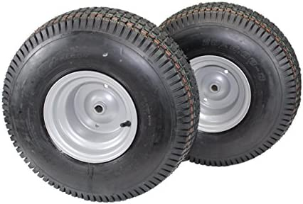 (Set of 2) 20×8.00-8 Tires & Wheels...