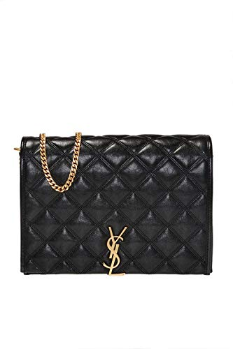 Saint Laurent Luxury Fashion Damen 5796071D3191000 Schwarz Leder Schultertasche | Frühling Sommer 20