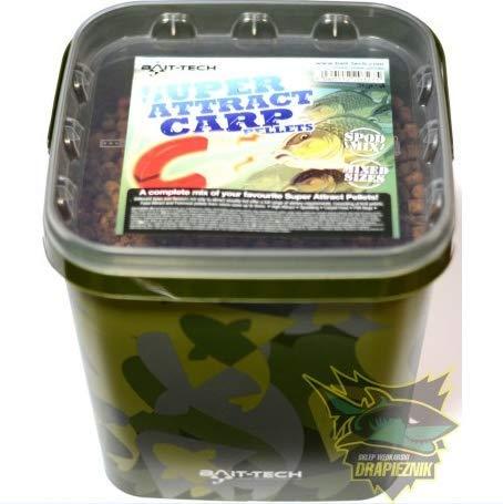Bait-Tech Camo Buckets 3kg Super Attract Carp Pellets