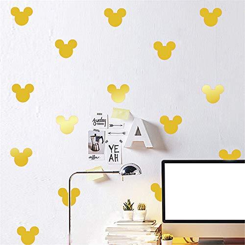 Autocollant Mickey Mouse Wall Decal 40 Pcs/Set Bricolage Autocollant Mickey Mouse Stickers Enfants Chambre Enfants Décoration Vinyle Wall Art