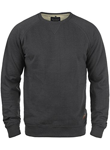 BLEND Alex 20701680ME Sweatshirt, Größe:L;Farbe:Charcoal (70818)