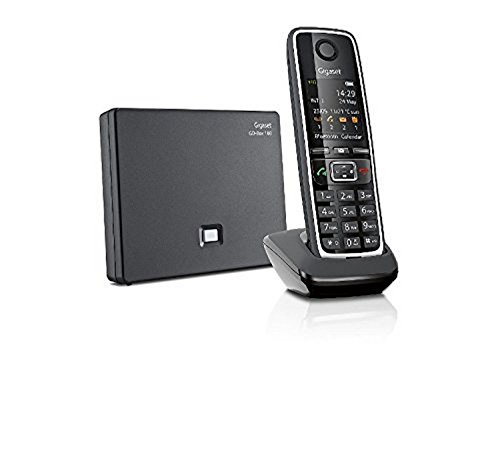 Gigaset C530A Go Telefono Cordless VoIP, Chiamate via Internet, 3 Segreterie Telefoniche,...