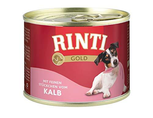 Rinti Hundefutter Gold Kalb 185 g, 12er Pack (12 x 185 g)