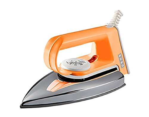 Usha EI 2102 1000-Watts Dry Iron (Orange)