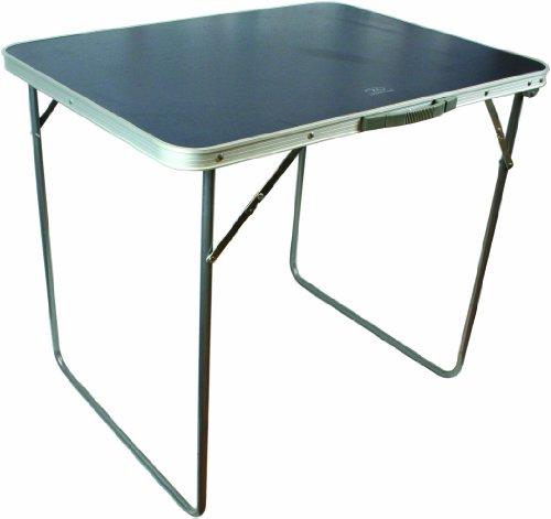 Highlander COMPACT Folding Table Single Kompakt Klapptisch, Silber, one Size
