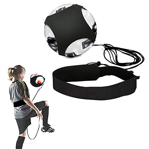 Fußball Training Football Kick Trainer Practice Adjustable Waist Belt Ball Schnur Fussball Soccer Trainer Solo Geschick Praxis für Kinder Anfänger Kick Off Trainer
