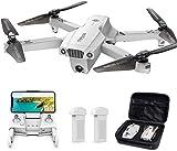 Tomzon Drone con Telecamera 4K UHD Drone GPS Pieghevole D65 FPV RC con Ritorno Automatico a Casa,...