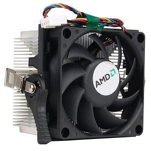 AMD Socket AM2 disipador de calor de aluminio y ventilador de 2.75...
