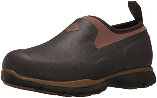 Muck Boot mens Excursion Pro Ankle Snow Boot, Bark/Otter, 10-10.5 US