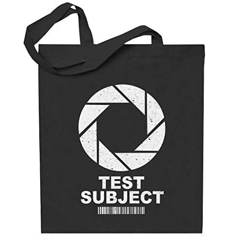 Cloud City 7 Test Subject Aperture Portal Half Life Totebag