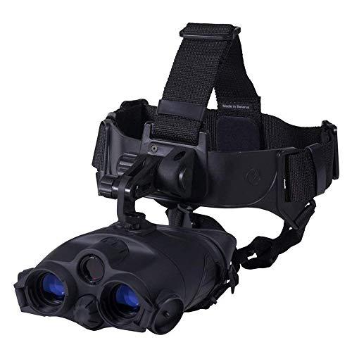 WOTR 1x24 Nachtsichtbrille Fernglas, Head Mounted Nachtsicht, Vision-Infrarot-Nacht Viewer für Jagd Camping Helm-Type