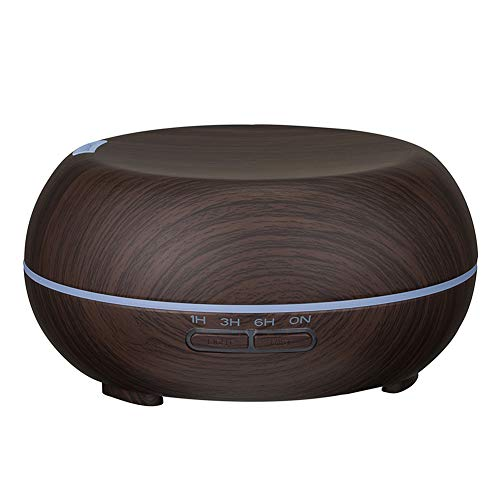 Absir Home Wood Grain Mute Large Capacity Humidifier Handy Air Purifier Aroma Diffuser Dark wood grain Australian regulations