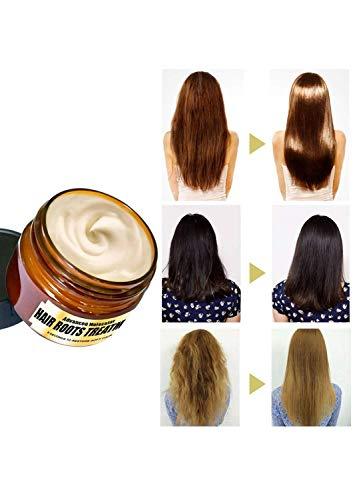 Après-shampoing à l'Huile d'argan par – Après-shampoing Naturel Non Gras, Vitamine E et acides-Gras pour des Cheveux Plus Doux et forts, Huile d'argan -Musheng