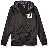 NFL New York Giants Men's Full Zip Hoodie, Black, Large