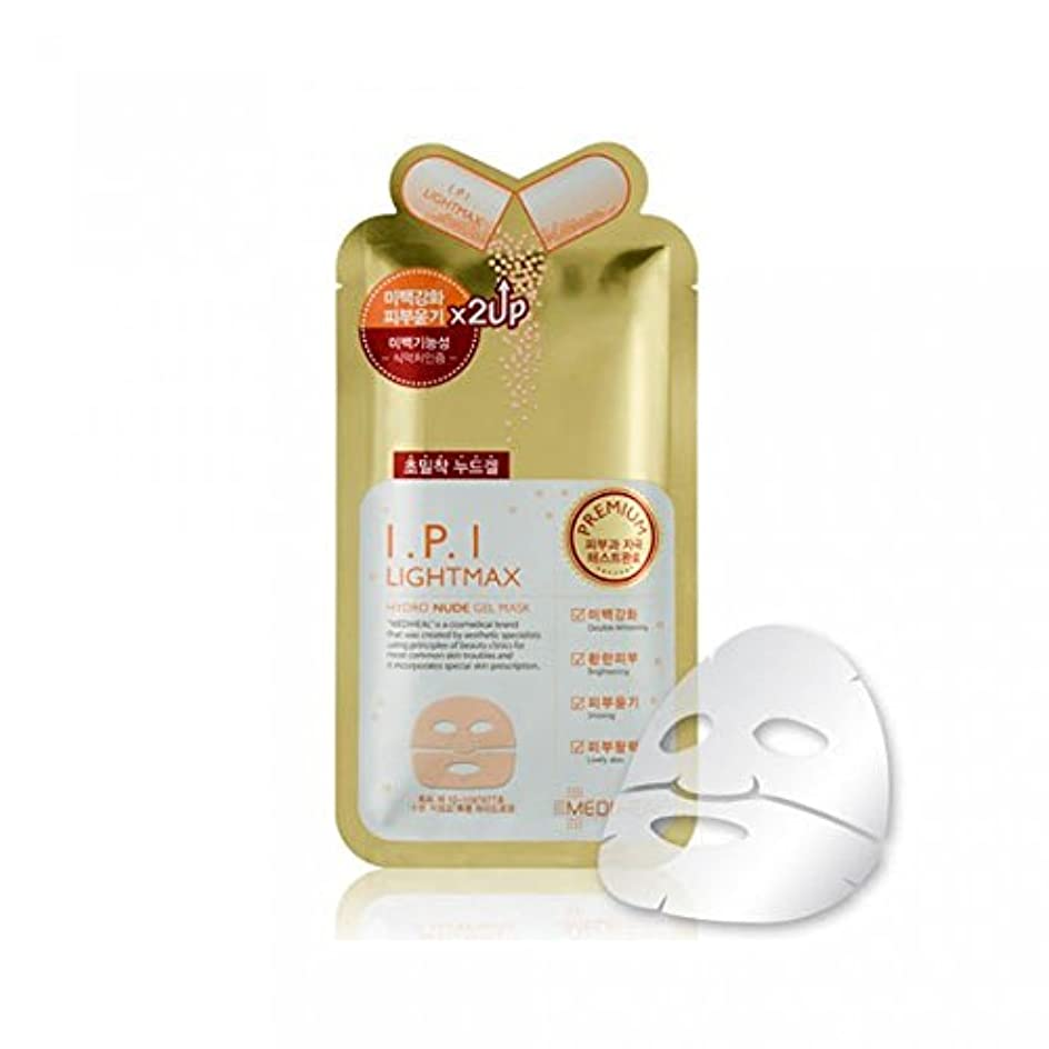カートリッジ厚い教メディヒール プレミアム IPI ライトマックス ヌード ゲルマスク (10枚) [Mediheal premium IPI LIGHT MAX Nude Gel Mask 10 sheets] [並行輸入品]