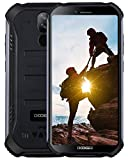 DOOGEE S40 4G Télephone Portable Incassable Debloqué, 3GO+32GO Android 9,0 Smartphone Antichoc Etanche IP68/IP69K 5,5'' Dual...