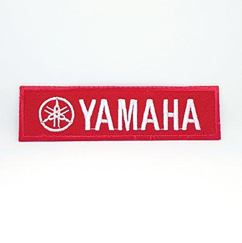 Parche bordado para moto Yamaha Racing Formula 1, cosido y planchado