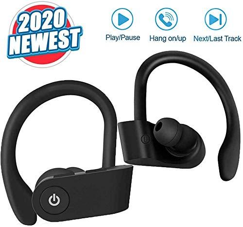 avis jeu de tous les temps professionnel Casque Bluetooth 5.0, mini casque sans fil avec son stéréo 3D, microphone intégré, IPX7 étanche,…