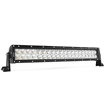 LEDLight BarNilight20Inch 120W Spot Flood Combo LED Driving Lamp Off Road Lights LED Work Lightfor TrucksBoat Jeep Lamp,2 Years Warranty
