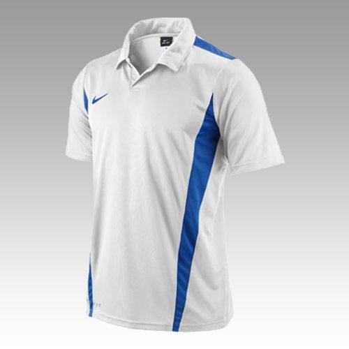 NIKE Striker - Camiseta para Hombre Weiß/Royal Talla:Small